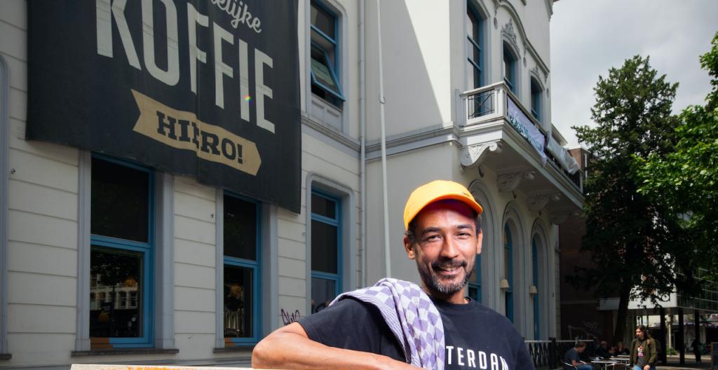 Paulo vertelt over zijn nieuwe start aan het Eendrachtsplein