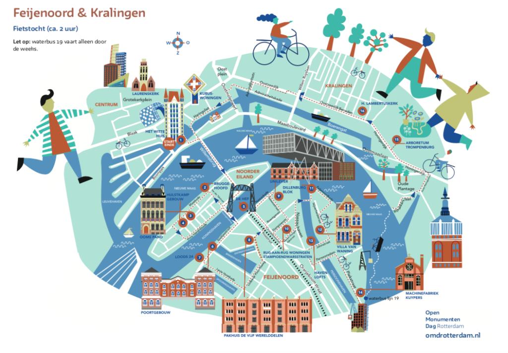 Feijenoord-Kralingen-route