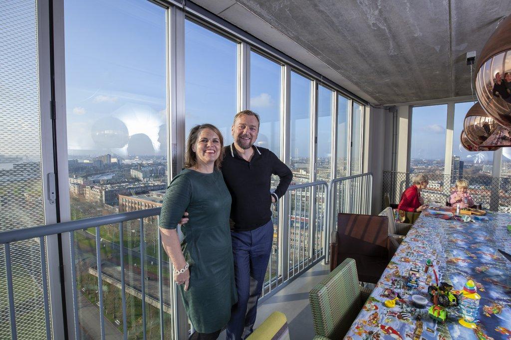 Architect Robert Winkel woont in de 'lelijkste loft' van De Schiecentrale