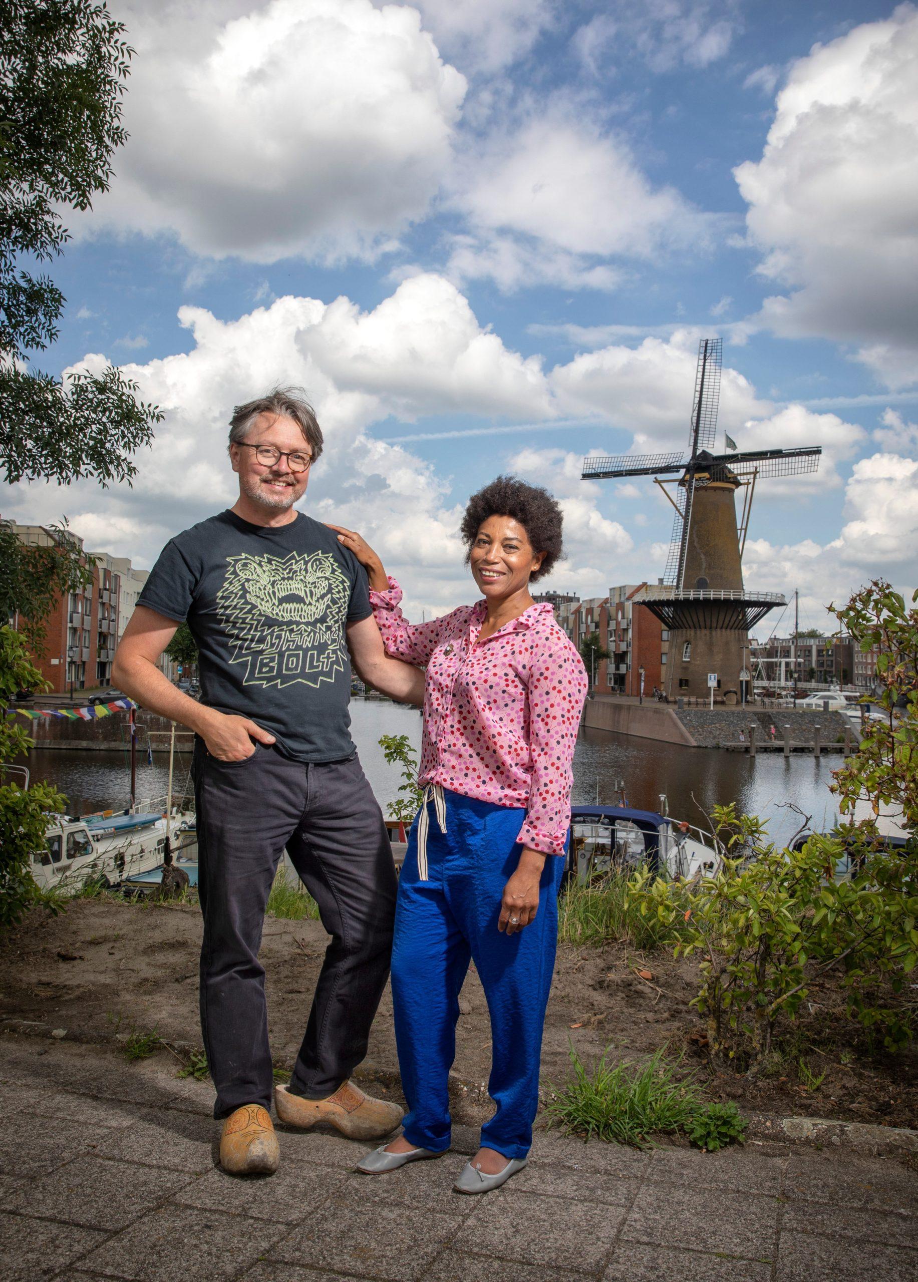 Virginia en Erwin laten de molen draaien voor én door gemberkoekjes