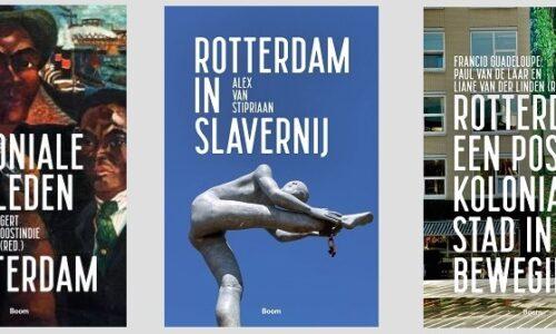 Drie boeken over het Rotterdamse koloniale en slavernijverleden